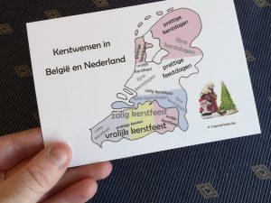 10 postkaarten 'Kerstmis'